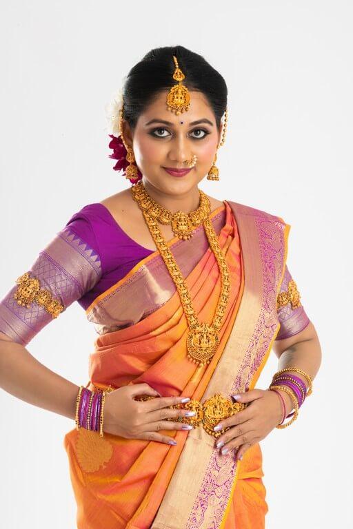 South Indian Bridal Look Workshop south indian bridal look workshop - draping  - South Indian Bridal Look Workshop