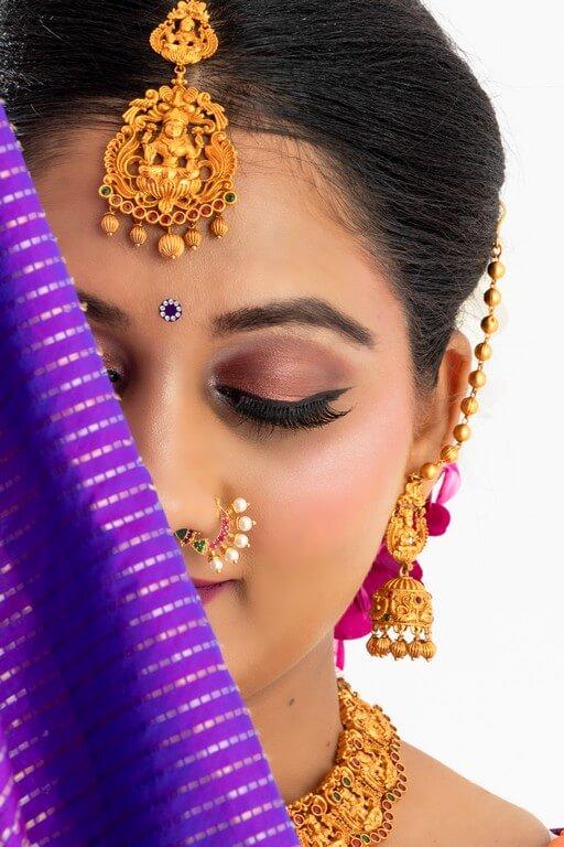 South Indian Bridal Look Workshop south indian bridal look workshop - eye makeup - South Indian Bridal Look Workshop
