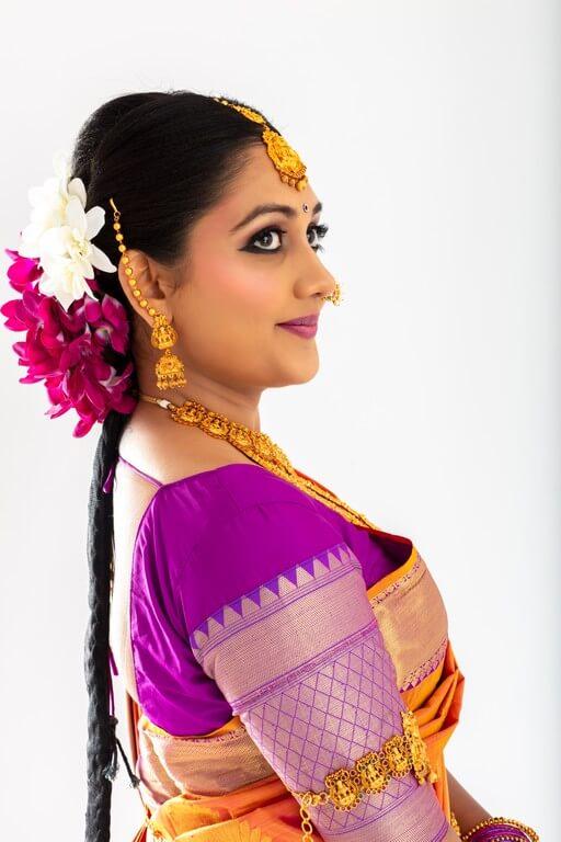 South Indian Bridal Look Workshop south indian bridal look workshop - hairstyle - South Indian Bridal Look Workshop