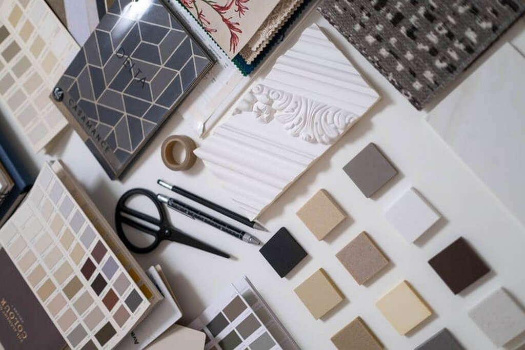 How to Create a Mood Board? how to create a mood board - swatches - How to Create a Mood Board?