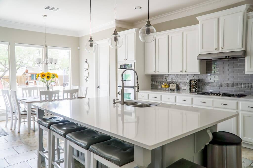 5 popular types of kitchen layouts  kitchen layouts - 5 popular types of kitchen layout 4 - 5 popular types of kitchen layouts