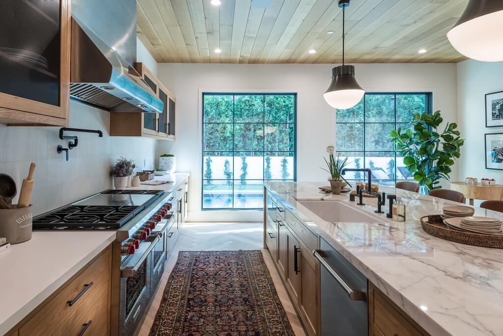 5 popular types of kitchen layouts  kitchen layouts - 5 popular types of kitchen layout 7 - 5 popular types of kitchen layouts