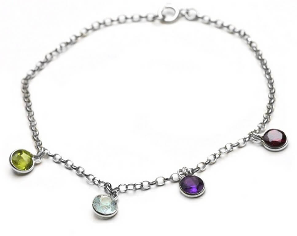 Charm Bracelets – From religion to a sentiment charm bracelets - Birthstone Charm Bracelet - Charm Bracelets – From religion to a sentiment