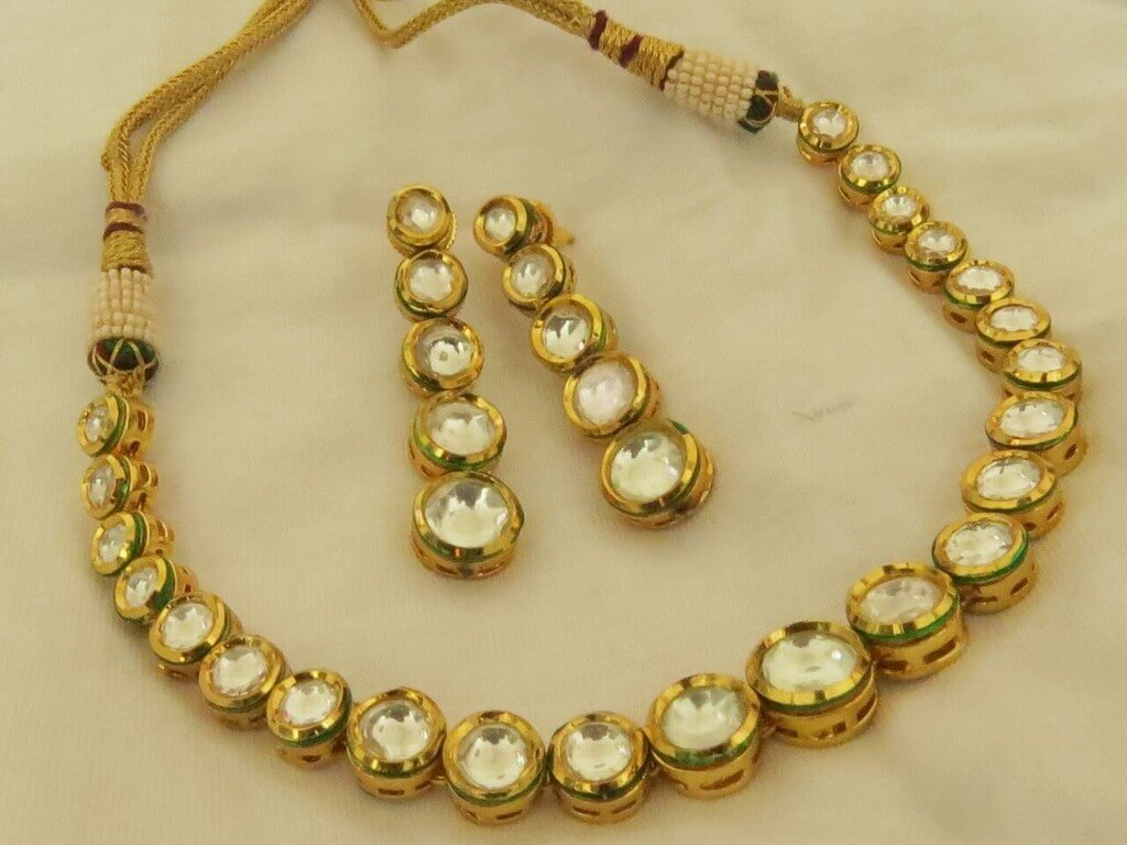 Indian Jewellery Types – Must have for every occasion indian jewellery - Kundan Jewellery - Indian Jewellery Types – Must have for every occasion