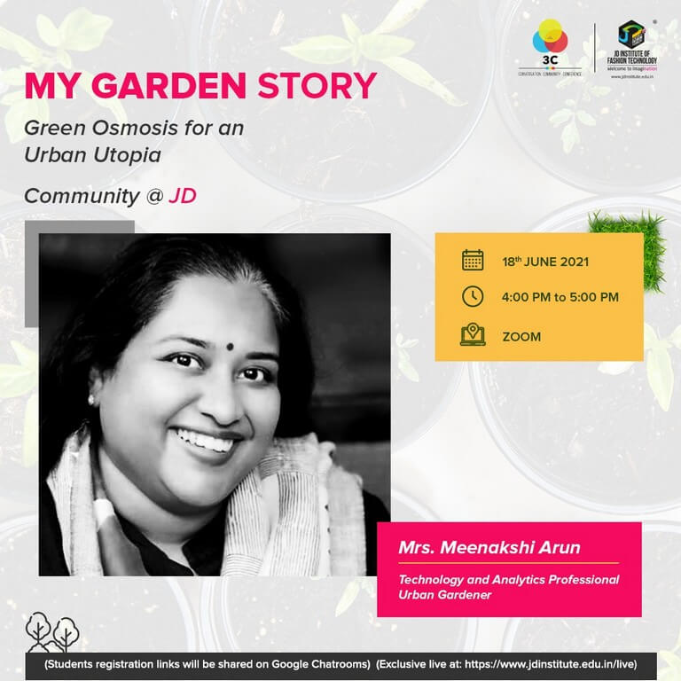 MY GARDEN STORY – BE THE CHANGE, JOIN THE GREEN REVOLUTION! my garden story - Meenakshi Arun - MY GARDEN STORY – BE THE CHANGE, JOIN THE GREEN REVOLUTION!