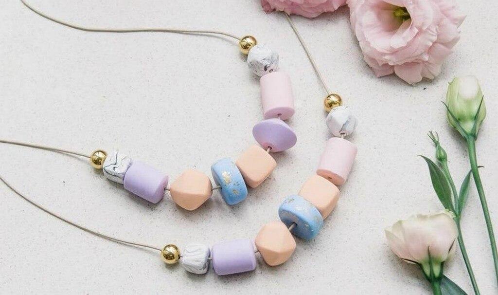Polymer Clay – Versatile Jewellery Making Material  polymer clay - Polymer clay neckpiece - Polymer Clay – Versatile Jewellery Making Material