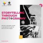 Storytelling through photography: CONV. CONVERSATIONS with Nirmal Harindran marketing - Storytelling through photography CONV - Marketing For Millennials: CONV. Series marketing - Storytelling through photography CONV - Marketing For Millennials: CONV. Series