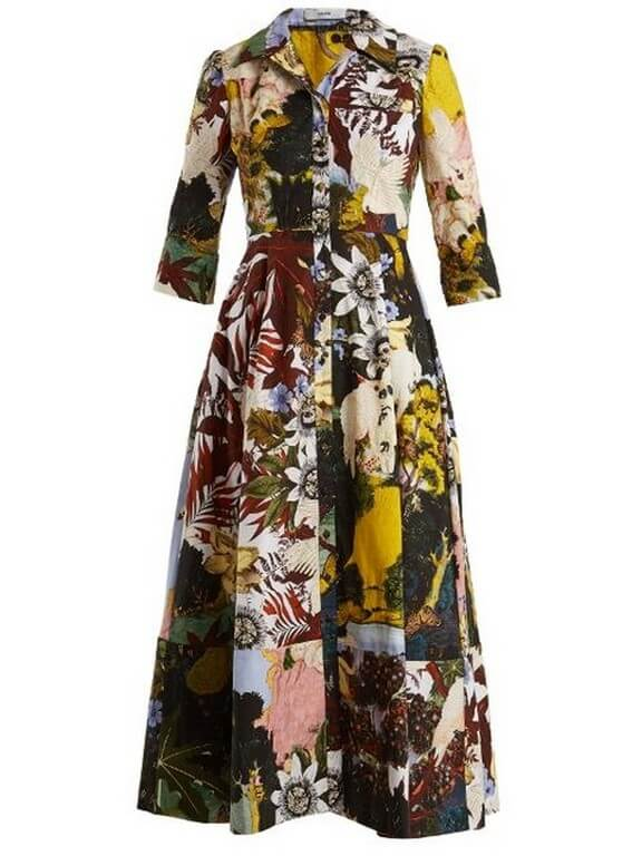 Patchwork - Patches of Beauty patchwork - classic floral dress - Patchwork – Patches of Beauty