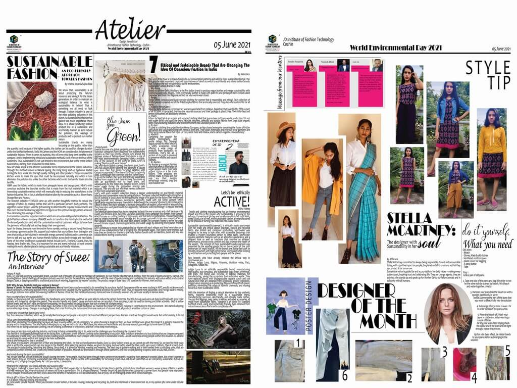 Atelier – A monthly Digital Newsletter by JD Institute, Cochin atelier - newsletter june 1 - Atelier – A monthly Digital Newsletter by JD Institute, Cochin