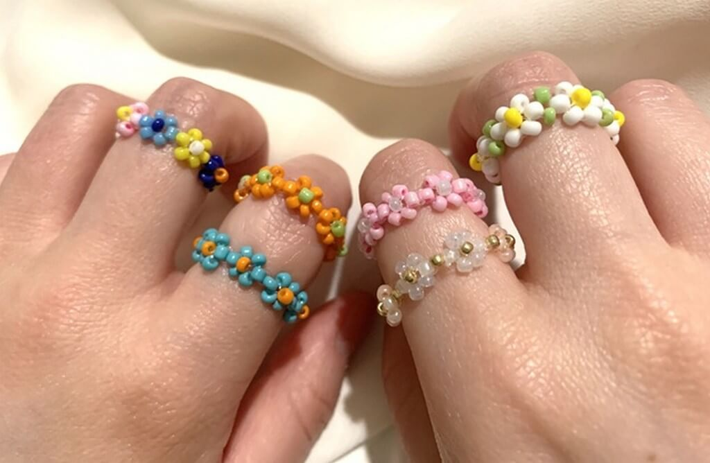How to make your own jewellery using beads? jewellery - Bead rings - How to make your own jewellery using beads?