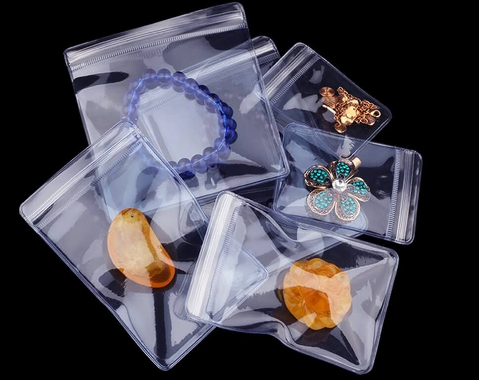 Jewellery cleaning solutions – Put the shine and sparkle back jewellery cleaning solutions - PVC Zip Lock Bag for jewellery storage - Jewellery cleaning solutions – Put the shine and sparkle back