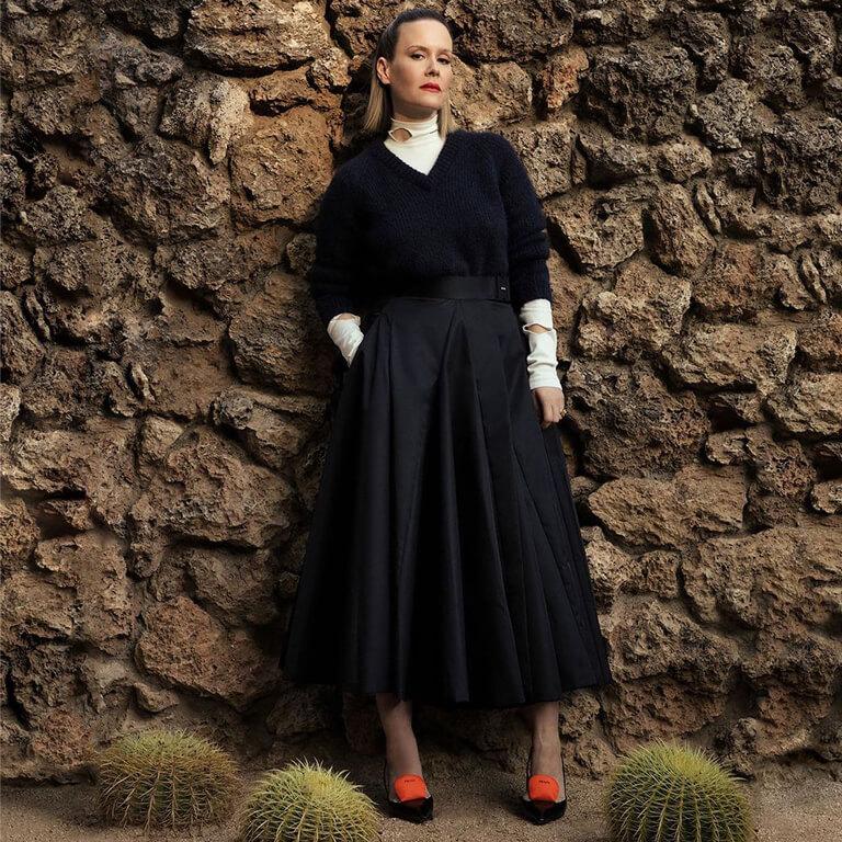 FASHION ICONS WHO ARE MAKING SENSATIONAL STATEMENTS! fashion icon - Sarah Paulson 2 - FASHION ICONS WHO ARE MAKING SENSATIONAL STATEMENTS!