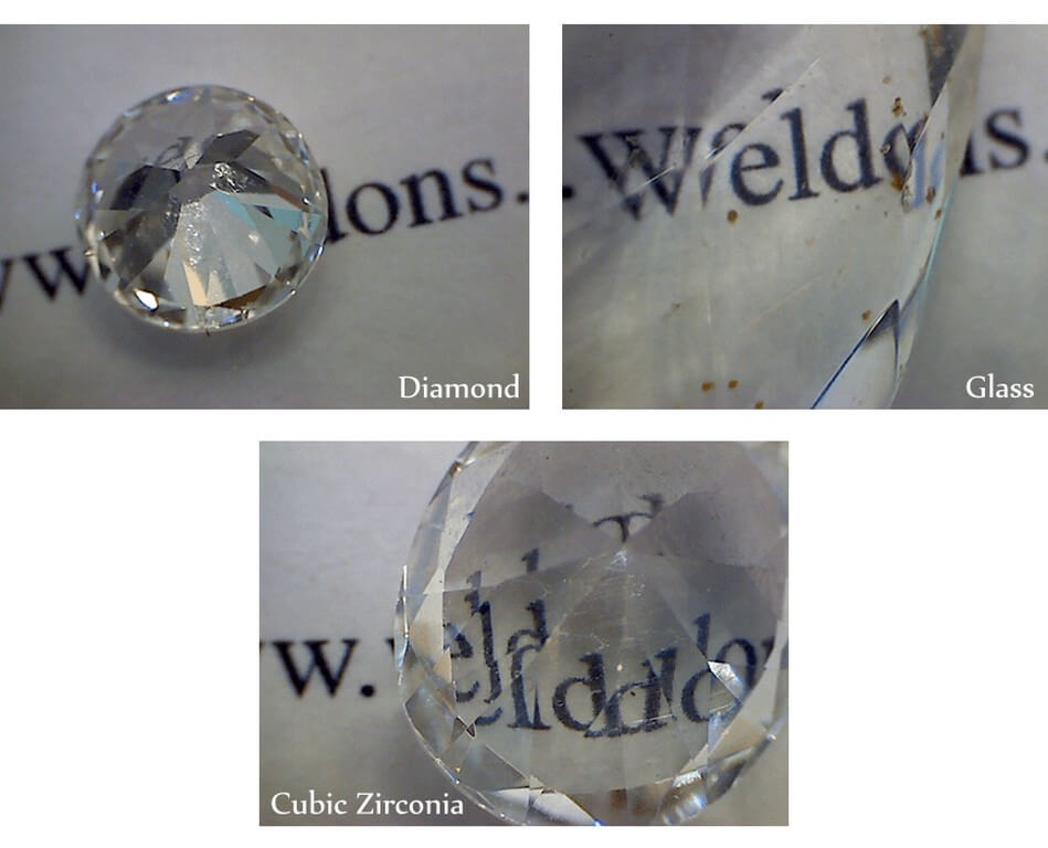 Diamonds – How to identify if they are Fake or Real? diamonds - transparency test - Diamonds – How to identify if they are Fake or Real?