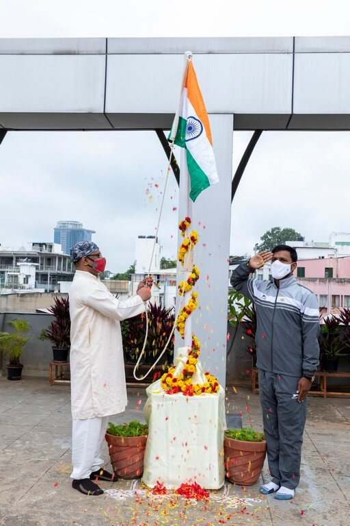 JD Institute celebrates 75th Independence Day complying with COVID guidelines jd institute - JD Institute celebrates 75th Independence Day complying with COVID guidelines 1 - JD Institute celebrates 75th Independence Day