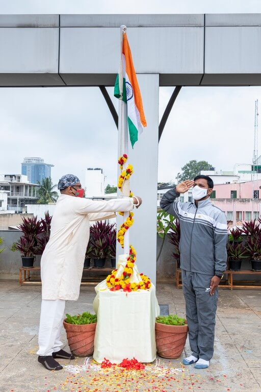 JD Institute celebrates 75th Independence Day complying with COVID guidelines jd institute - JD Institute celebrates 75th Independence Day complying with COVID guidelines 2 - JD Institute celebrates 75th Independence Day