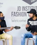 JD Music band:JD Institute of Fashion Technology students jam in style