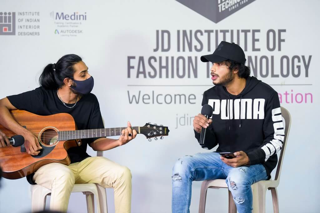 JD Music band:JD Institute of Fashion Technology students jam in style jd music band - JD Music bandJD Institute of Fashion Technology students jam in style 7 - JD Music band:JD Institute of Fashion Technology students jam in style