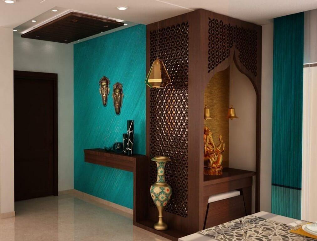 Pooja room: Simple interior design ideas  pooja room - Pooja room Simple interior design ideas 3 - Pooja room: Simple interior design ideas