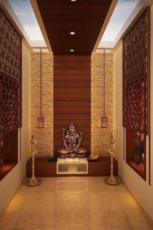 Pooja room: Simple interior design ideas pooja room - Pooja room Simple interior design ideas 5 512x768 - Pooja room: Simple interior design ideas