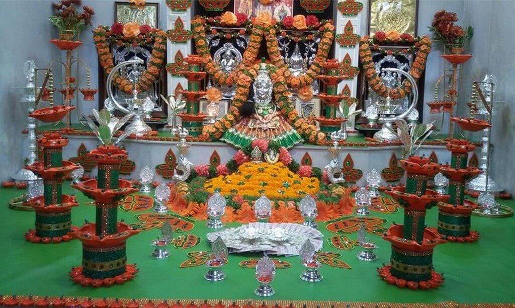 Varamahalakshmi Vratam: Origin, Decoration and food  varamahalakshmi vratam - Varamahalakshmi Vratam Origin Decoration and food 1 - Varamahalakshmi Vratam: Origin, Decoration and food