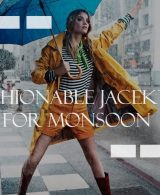 Fashionable Jackets For The Monsoon