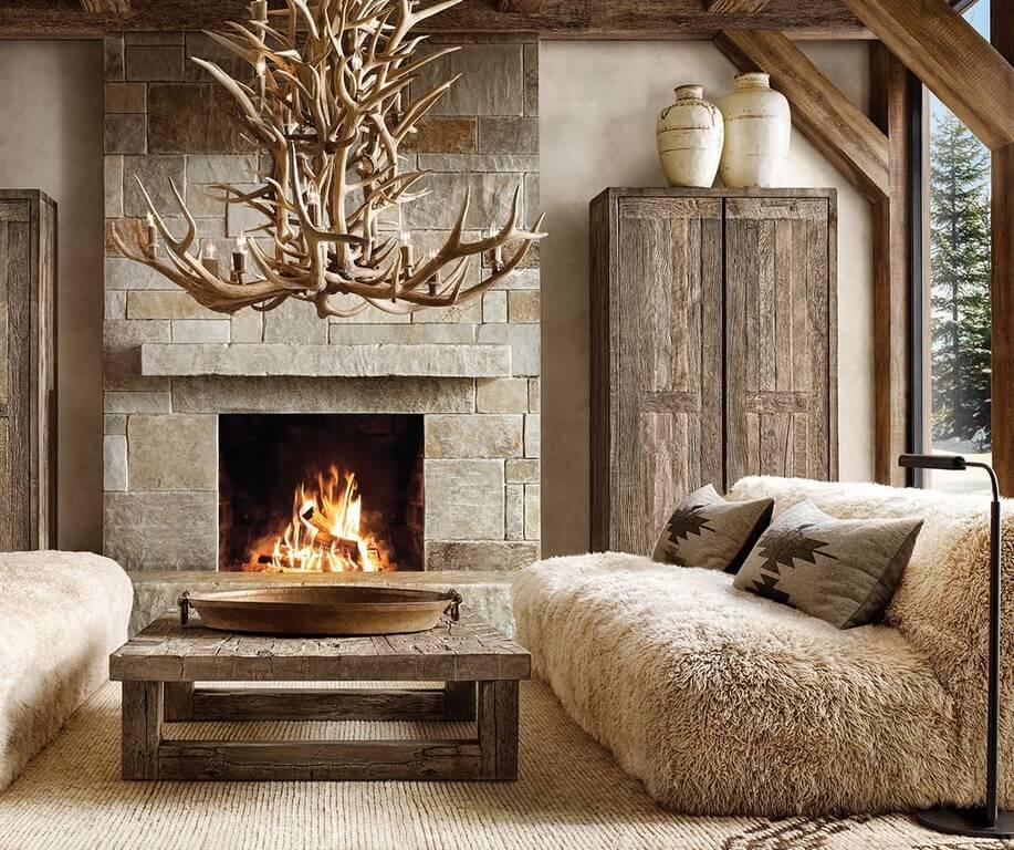 Features of rustic interior design  features - Features of rustic interior design 1 - Features of rustic interior design