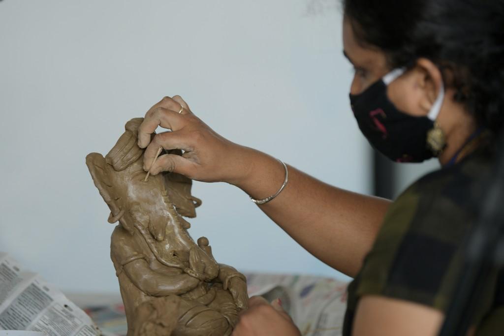 Ganesh Chaturthi Idol Making Workshop ganesh chaturthi - Ganesh Chaturthi Idol Making Workshop 6 - Ganesh Chaturthi Idol Making Workshop