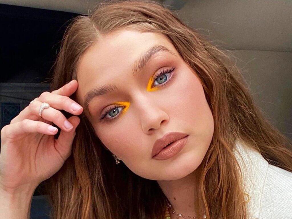 Gigi Hadid's yellow eye makeup steals the show: Recreate the look gigi hadid - Gigi Hadids yellow eye makeup steals the show Recreate the look thumbnail - Gigi Hadid's yellow eye makeup steals the show: Recreate the look