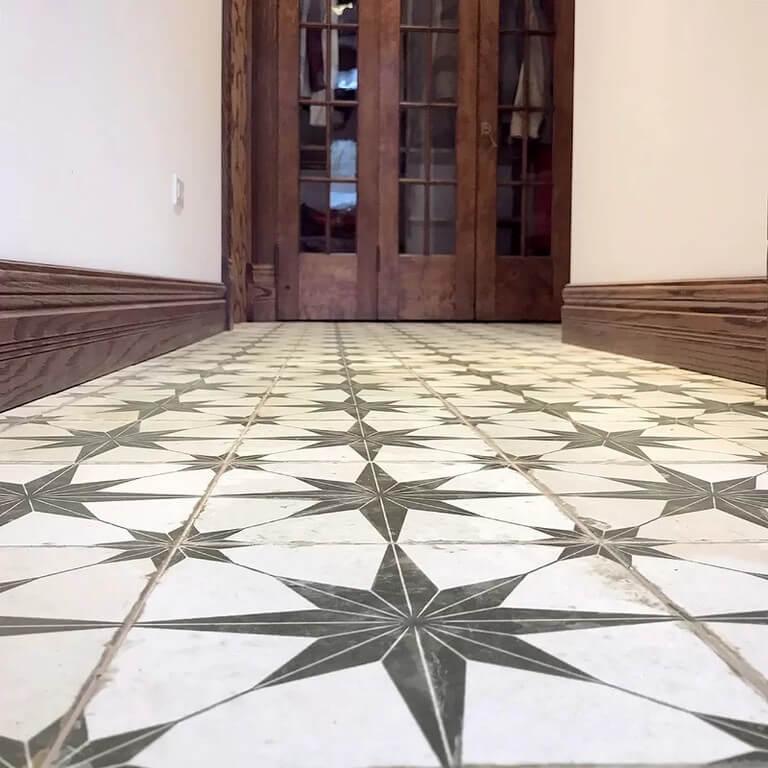 Kitchen floors: Types of tiles chosen in interior design kitchen floors - Kitchen floors Types of tiles chosen in interior design 10 - Kitchen floors: Types of tiles chosen in interior design