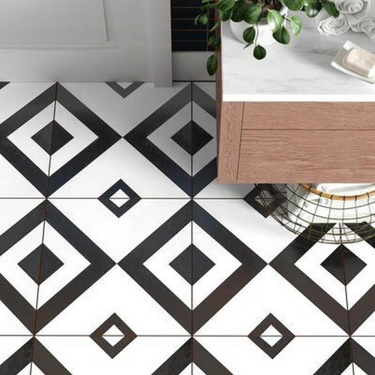 Kitchen floors: Types of tiles chosen in interior design kitchen floors - Kitchen floors Types of tiles chosen in interior design 3 - Kitchen floors: Types of tiles chosen in interior design