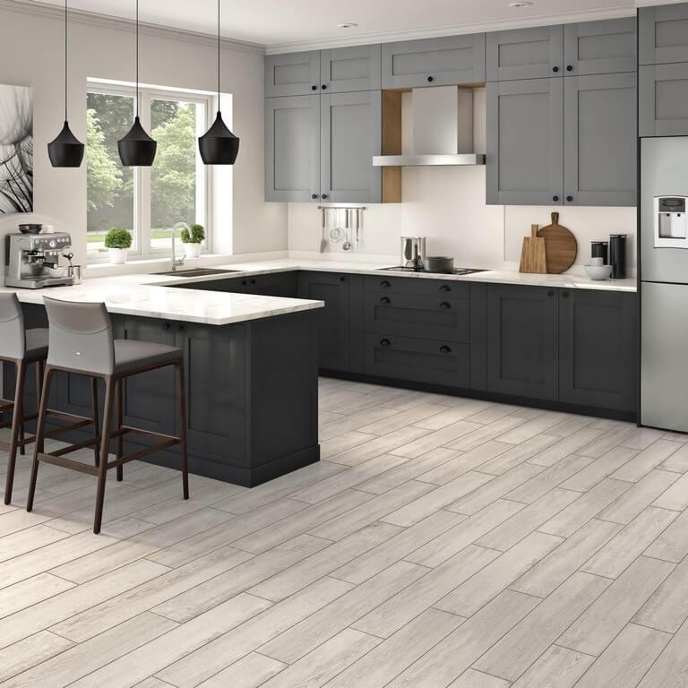 Kitchen floors: Types of tiles chosen in interior design kitchen floors - Kitchen floors Types of tiles chosen in interior design 4 - Kitchen floors: Types of tiles chosen in interior design