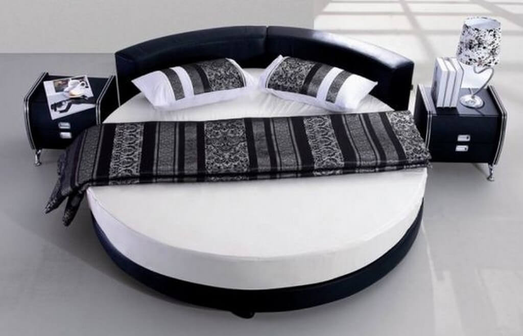 Pros and cons of round beds  round beds - Pros and cons of round beds 1 - Pros and cons of round beds