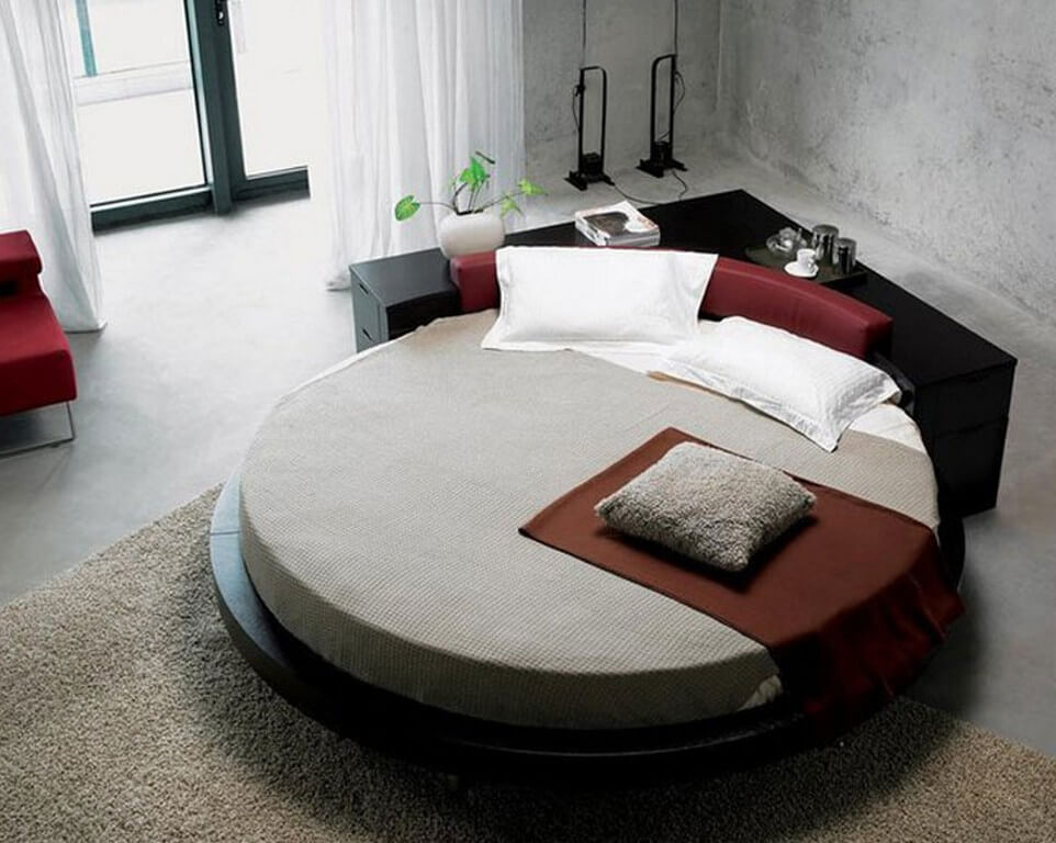Pros and cons of round beds  round beds - Pros and cons of round beds 2 - Pros and cons of round beds