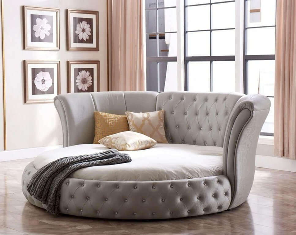 Pros and cons of round beds round beds - Pros and cons of round beds 3 - Pros and cons of round beds