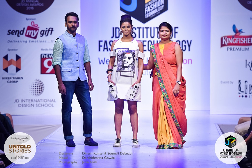 "JD Annual Design Awards 2016 – Untold Stories : ""NEEDLED EMOTIONS"" Designers : Dinesh Kumar & Soumali Debnath Photography : Jerin Nath  - 7 3 - JD Annual Design Awards 2016 – Untold Stories : ""NEEDLED EMOTIONS"""