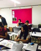 Paper Pulp Workshop – Advance Diploma in Interior Design – Batch of 2015