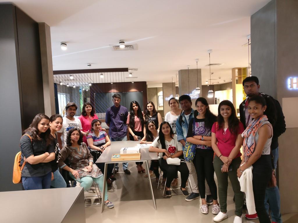 Hettich Store Visit Batch Of Diploma In Interior Design Jd Institute