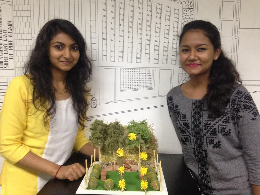 LANDSCAPE MODEL MAKING – ADVANCE DIPLOMA IN INTERIOR DESIGN – BATCH OF 2015 landscape model making Landscape Model Making – Advance Diploma in Interior Design akshata vikshita 5