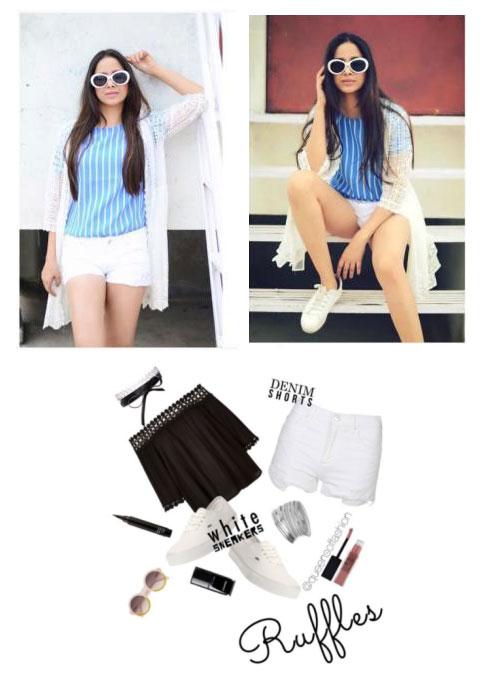 Denim_Shorts wardrobe essentials for women - Denim Shorts - Must have wardrobe essentials for women