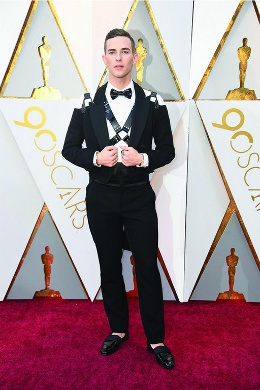 best dressed at the oscar 2018 red carpet - Adam Rippon - Best dressed at the Oscar 2018 Red Carpet