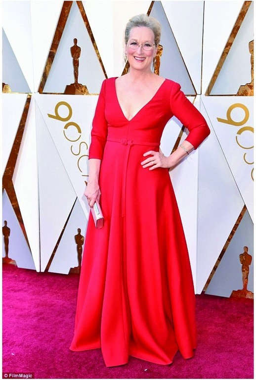 best dressed at the oscar 2018 red carpet Best dressed at the Oscar 2018 Red Carpet Meryl Streep
