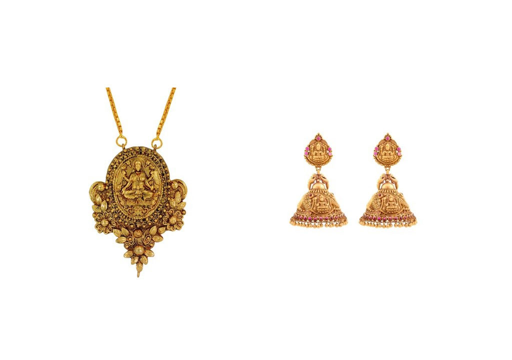Temple Jewellery a must have for all seasons temple jewellery Temple Jewellery a must have for all seasons lakshmi Inspired