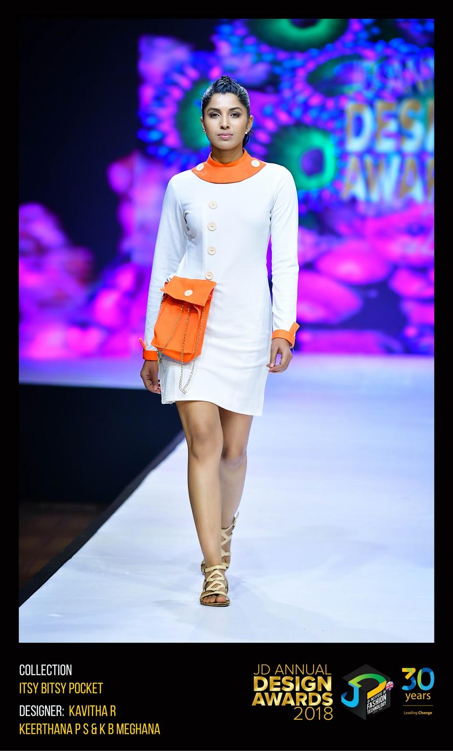 Itsy Bitsy Pocket Dress – Change – JD Annual Design Awards 2018   Designer: Kavitha, Keertana and Meghana   Photography : Jerin Nath (@jerin_nath) itsy bitsy pocket dress Itsy Bitsy Pocket Dress – Change – JD Annual Design Awards 2018 ITSY BITSY POCKET1