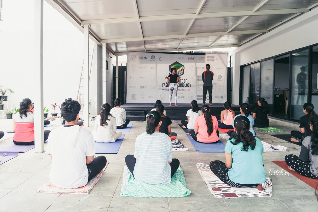 International Yoga Day observed at JD Institute international yoga day observed at jd institute - International Yoga Day - International Yoga Day observed at JD Institute