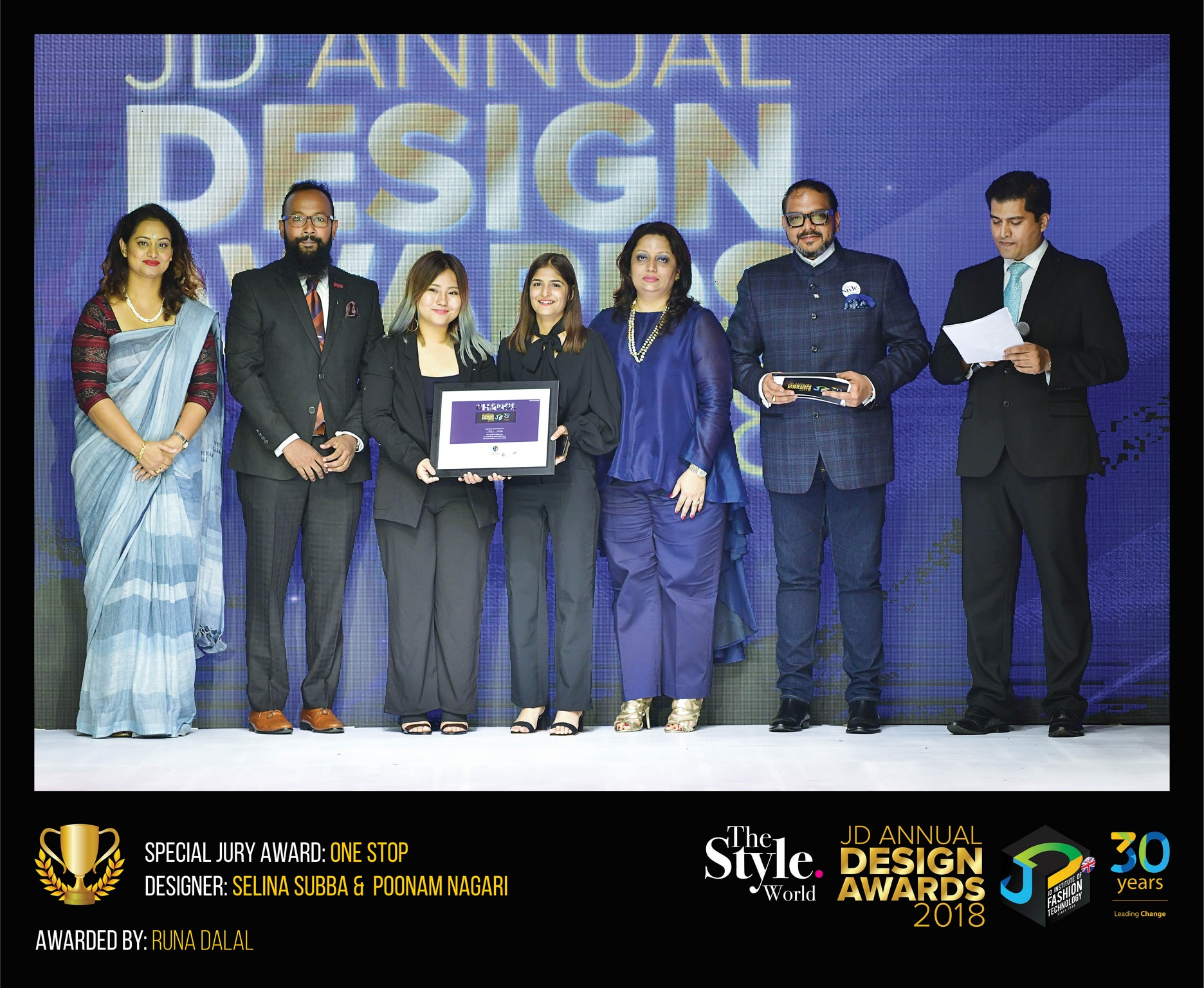 ONE STOP – CHANGE – JD ANNUAL DESIGN AWARDS 2018 | Designer: Selina and Poonam | Photography : Jerin Nath (@jerin_nath) one stop - ONE STOP final - ONE STOP – Change – JD Annual Design Awards 2018