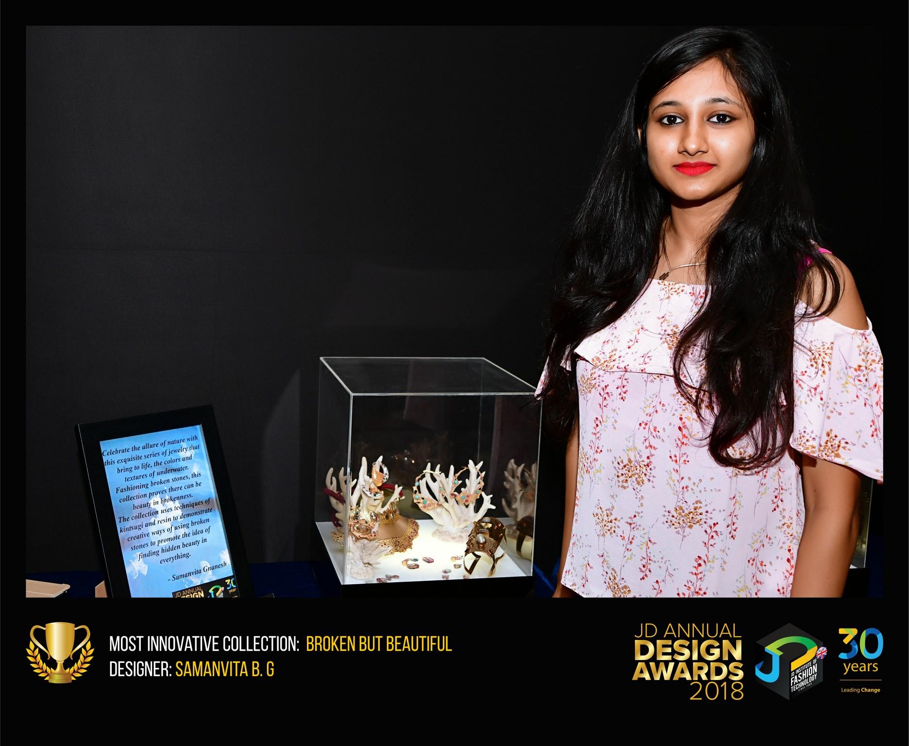 broken but beautiful Broken but Beautiful – Change – JD Annual Design Awards 2018 Samanvita2