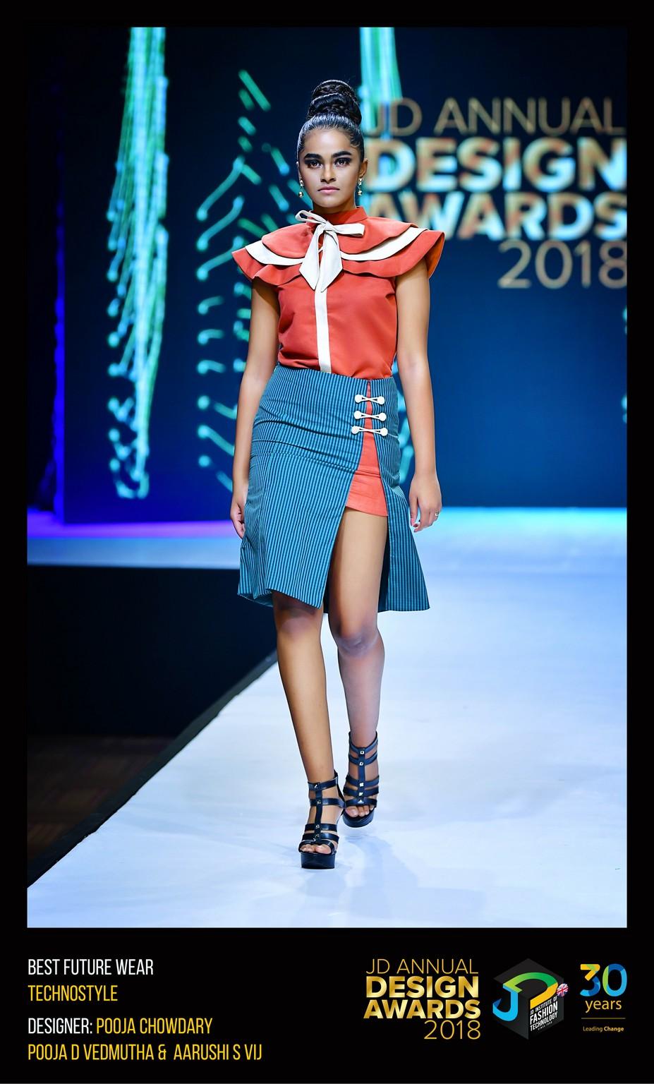 Techno style – Change – JD Annual Design Awards 2018 | Designer: M. Pooja, Pooja.D | Photography : Jerin Nath (@jerin_nath) techno style Techno style – Change – JD Annual Design Awards 2018 Technostyle4