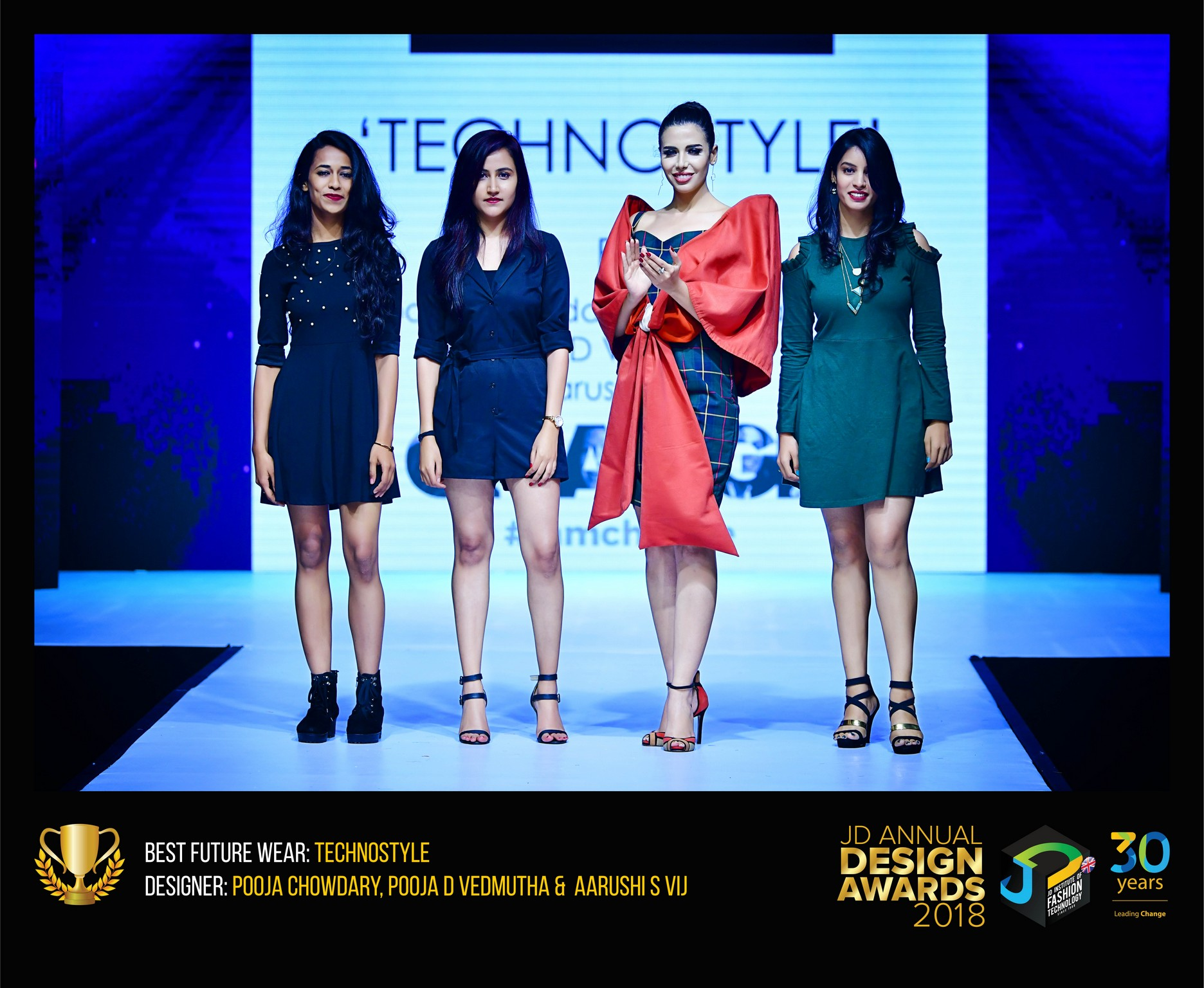 Techno style – Change – JD Annual Design Awards 2018 | Designer: M. Pooja, Pooja.D | Photography : Jerin Nath (@jerin_nath) techno style - Technostyle7 - Techno style – Change – JD Annual Design Awards 2018