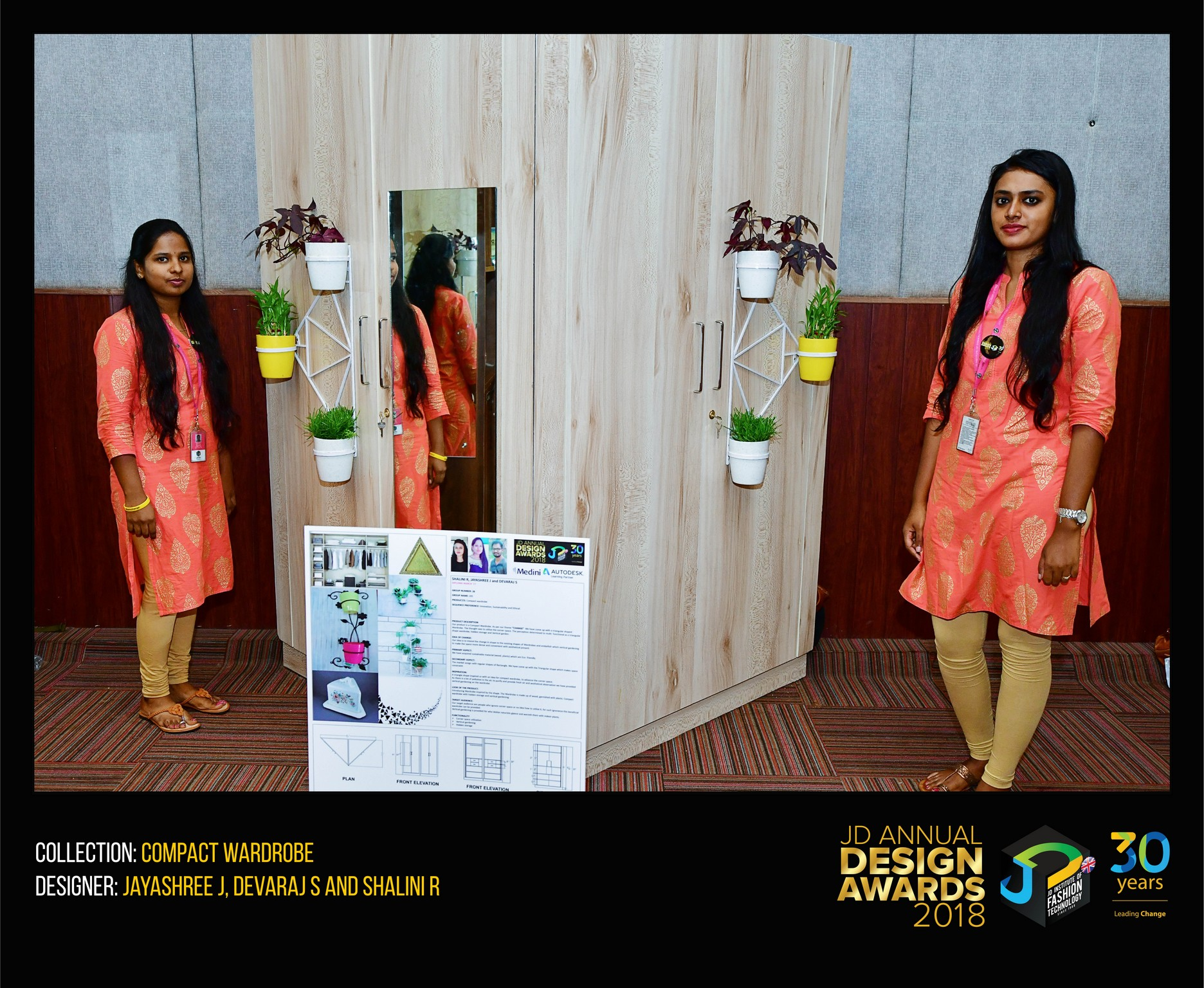 compact wardrobe Compact wardrobe – Change – JD Annual Design Awards 2018 compact wordrobe