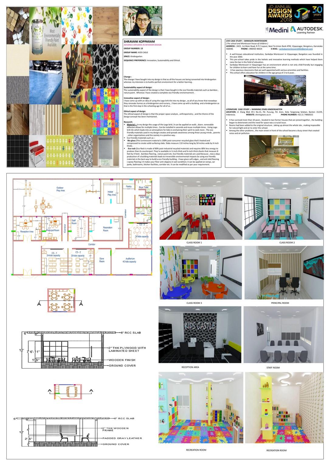 Kindergarten – Change – JD Annual Design Awards 2018 | Designer: Shravani KV | Photography : Jerin Nath (@jerin_nath) kindergarten - kinder garten1 - Kindergarten – Change – JD Annual Design Awards 2018